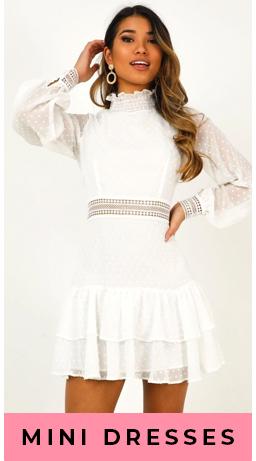 Category Mini Dress